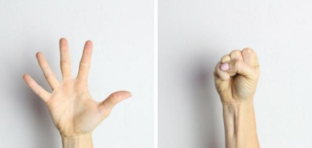 Hand-Squeeze