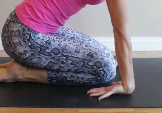 Kneeling-Floor-Wrist-Flexion-Stretch